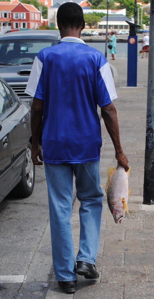 In de straten van Willemstad (c)2010 CuracaoVakantieland.nl